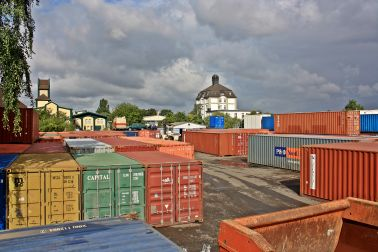 Container bei Global Forwarding